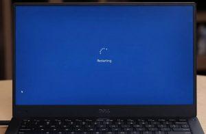 restart laptop